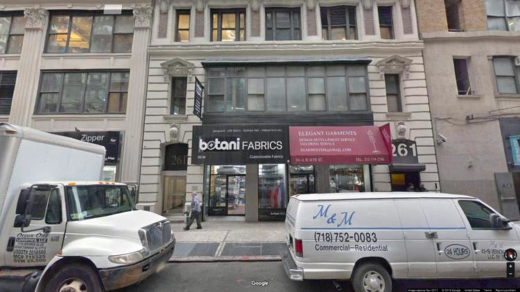 rent office 261 west 36th street