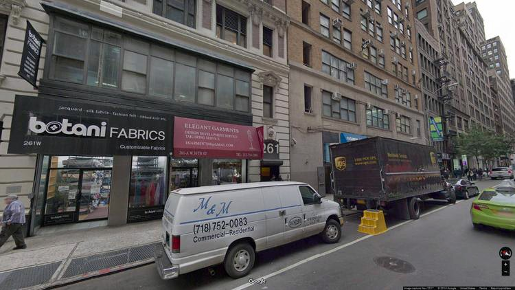 let office 261 west 36th street