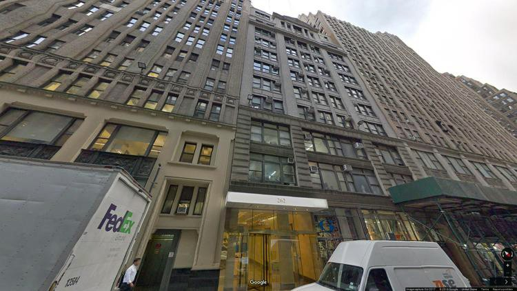 lease office 262 west 38th street