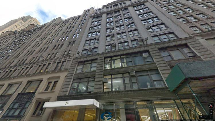 rent office 262 west 38th street