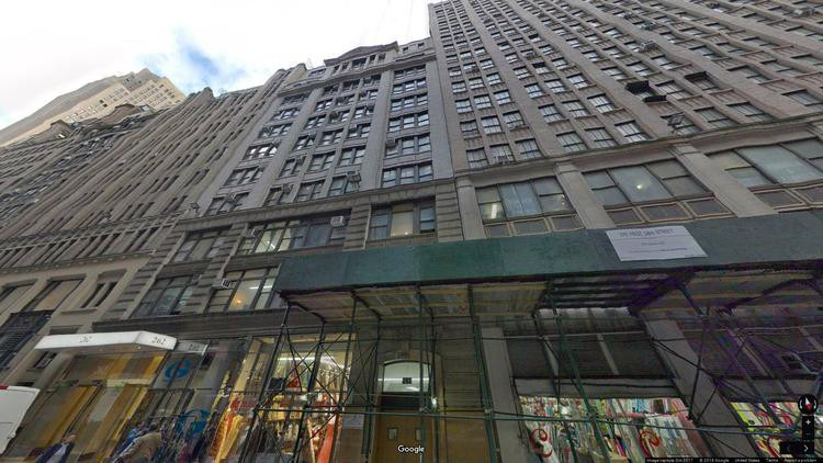 let office 262 west 38th street