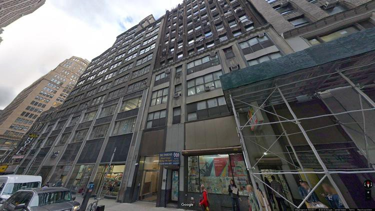 rent office 263 west 38th street