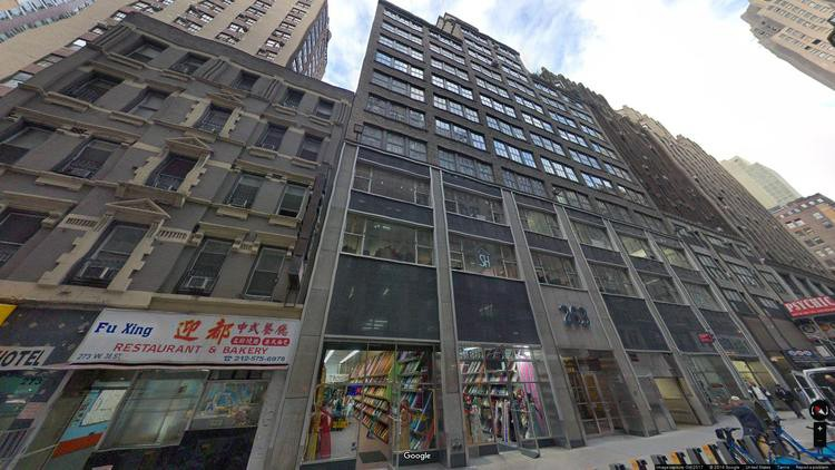 let office 263 west 38th street