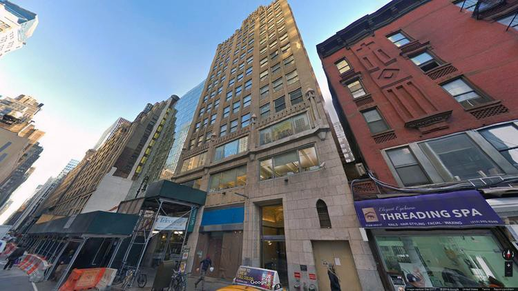 lease office 264 west 40th street