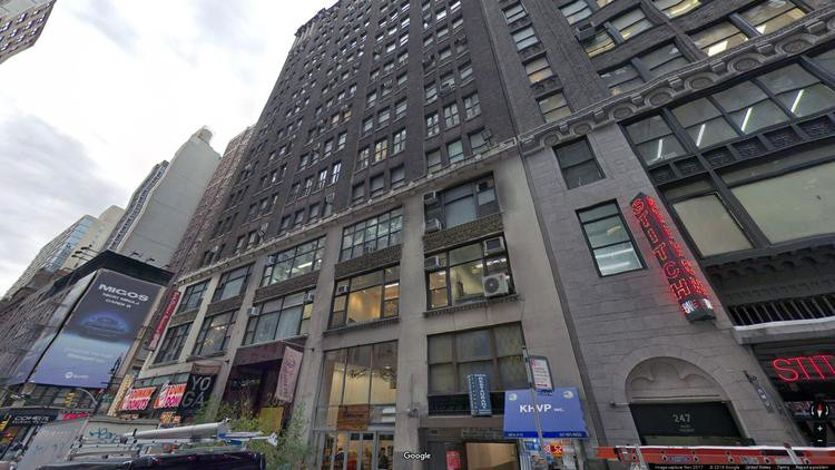 rent office 265-269 west 37th street