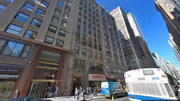 rent office 274 madison avenue