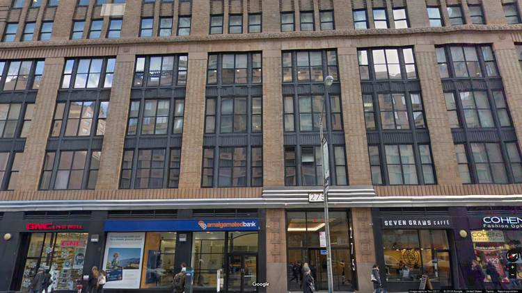 rent office 275 seventh avenue