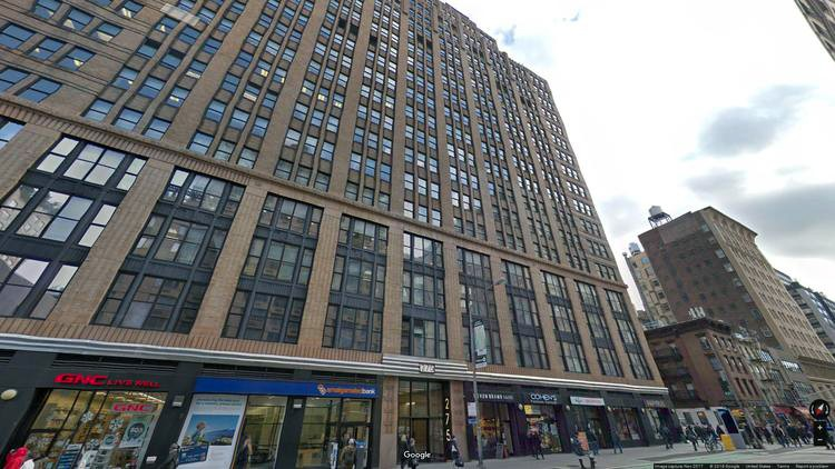 lease office 275 seventh avenue