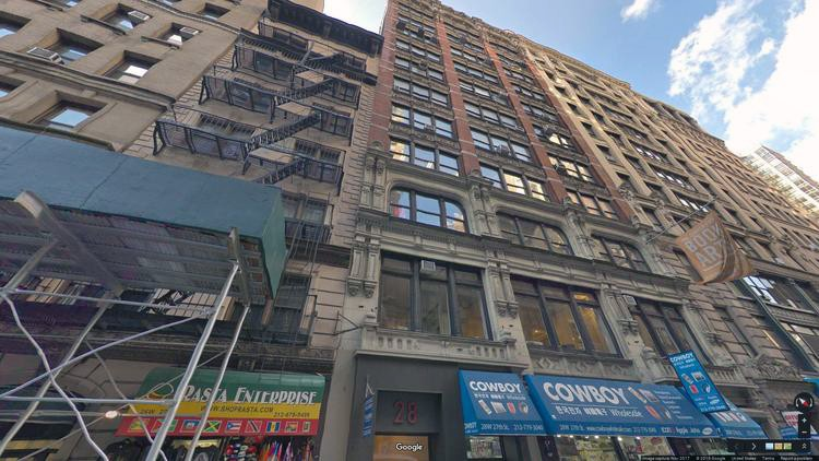 rent office 28 west 27th street