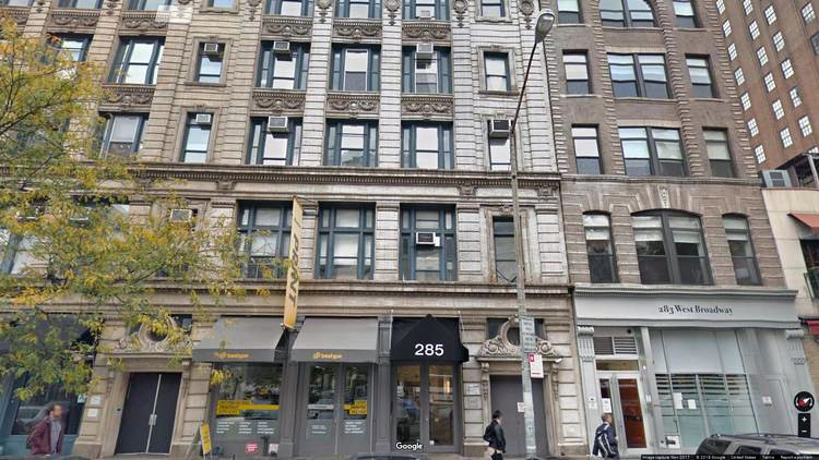 rent office 285 west broadway