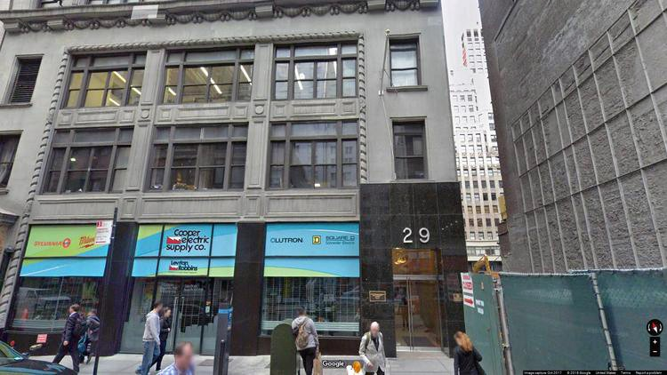 rent office 29 west 38th street