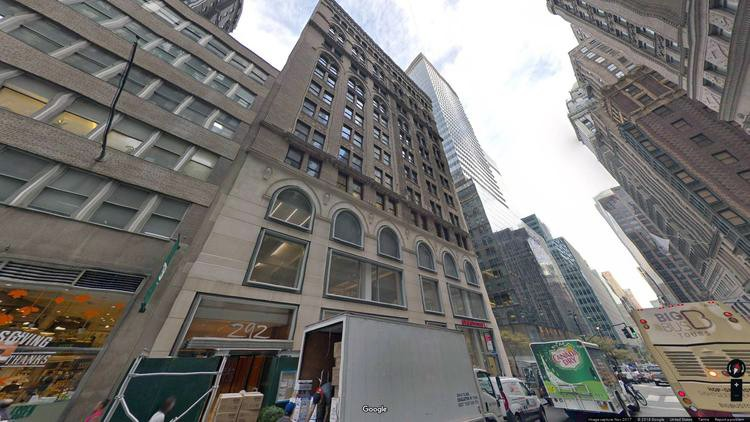 lease office 292 madison avenue