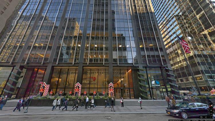 rent office 299 park avenue