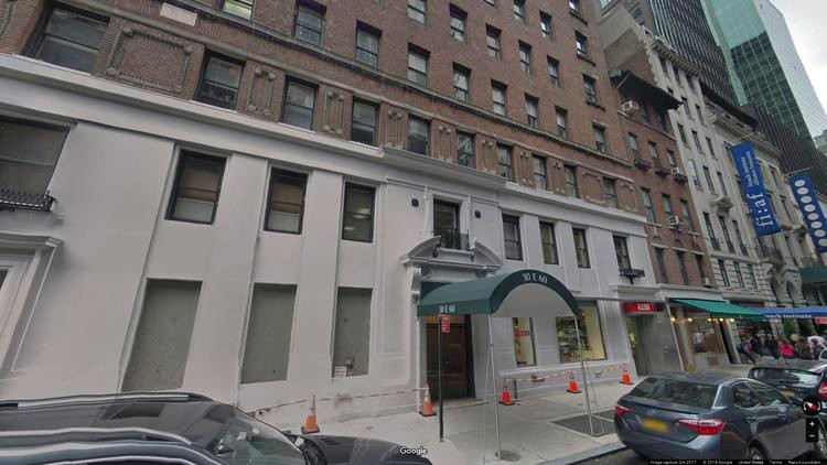 lease office 30 east 60th street