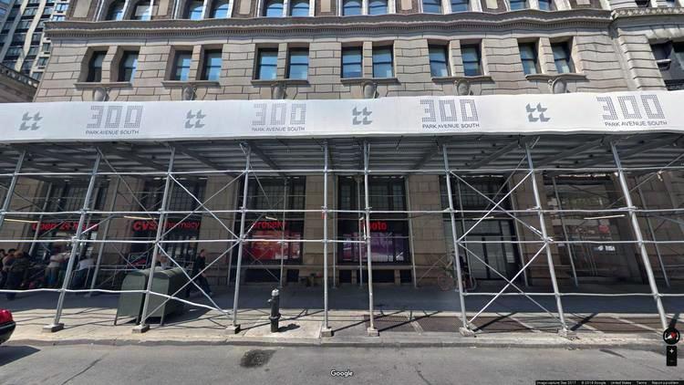 rent office 300 park avenue south