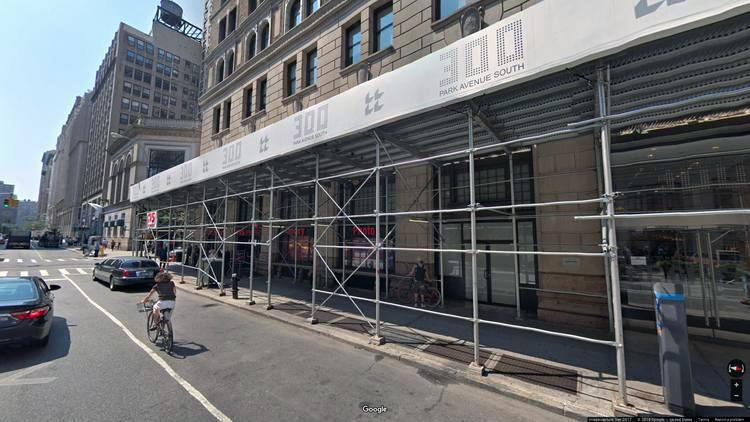 lease office 300 park avenue south