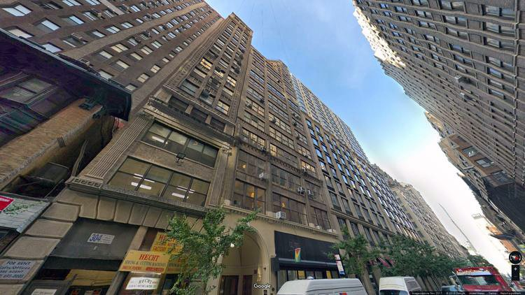 lease office 306 west 38th street