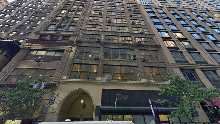 rent office 306 west 38th street