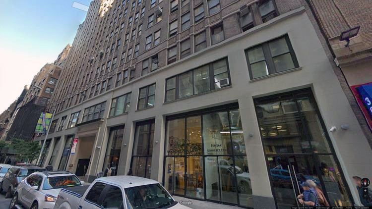 lease office 307 west 38th street