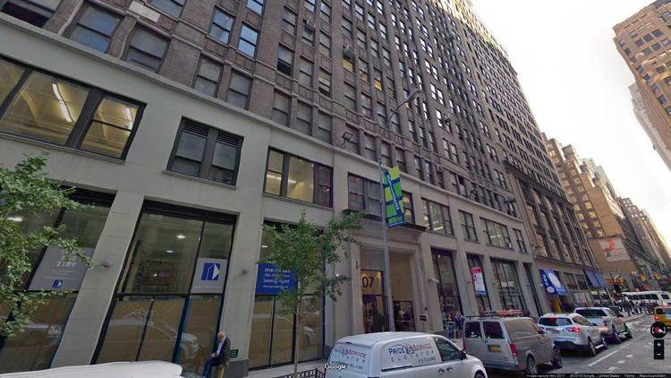 let office 307 west 38th street