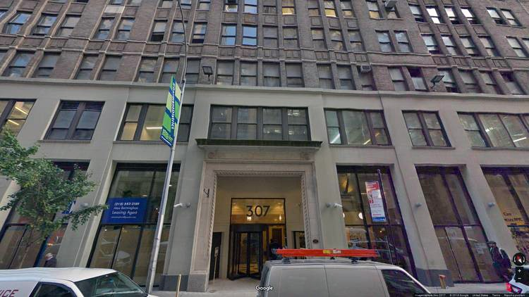 rent office 307 west 38th street