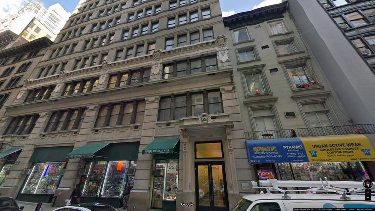 let office 31-37 west 27th street