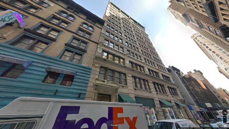 lease office 31-37 west 27th street