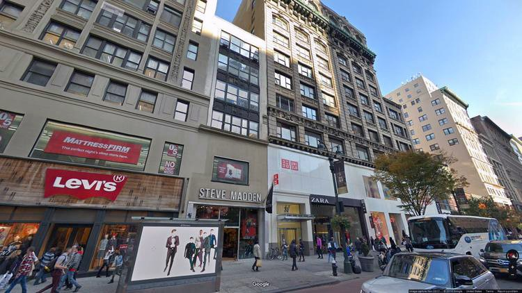 lease office 31 west 34th street