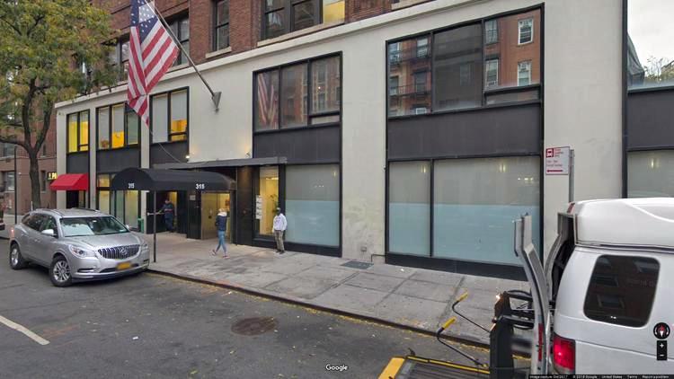 rent office 315 east 62nd street