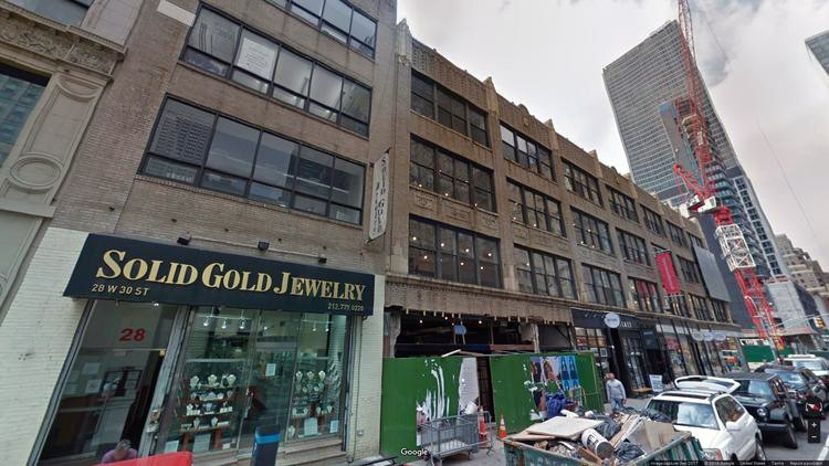 lease office 32-38 west 30th street
