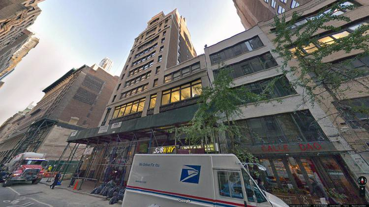 rent office 32 west 39th street