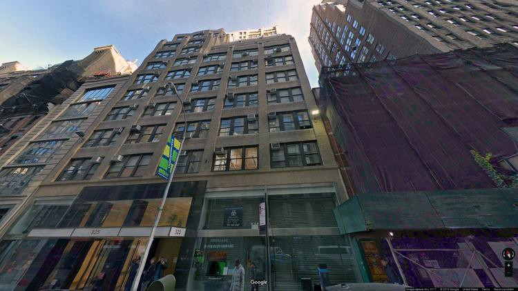 lease office 325 west 38th street