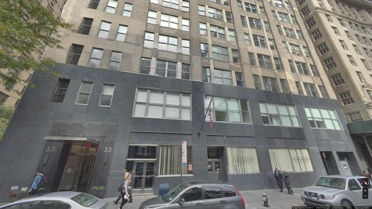 lease office 33 west 60th street