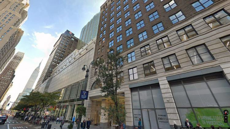 lease office 330 west 34th street