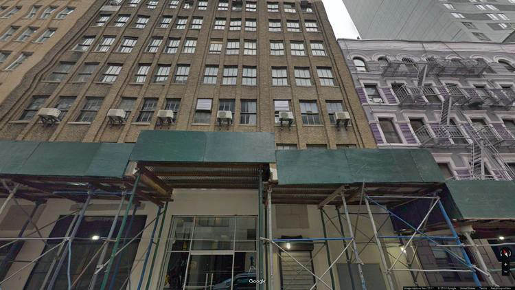 rent office 335 west 35th street