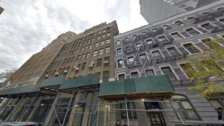 lease office 335 west 35th street