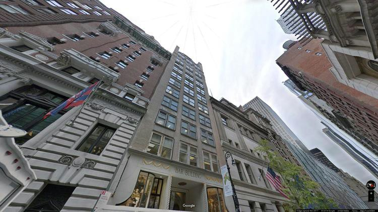 lease office 34-36 west 44th street