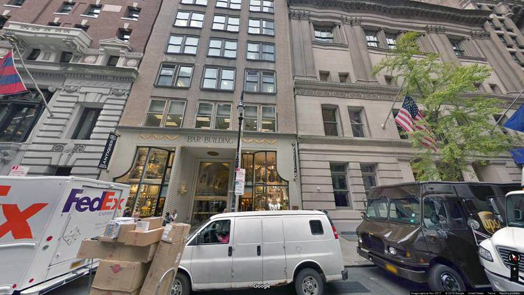 rent office 34-36 west 44th street