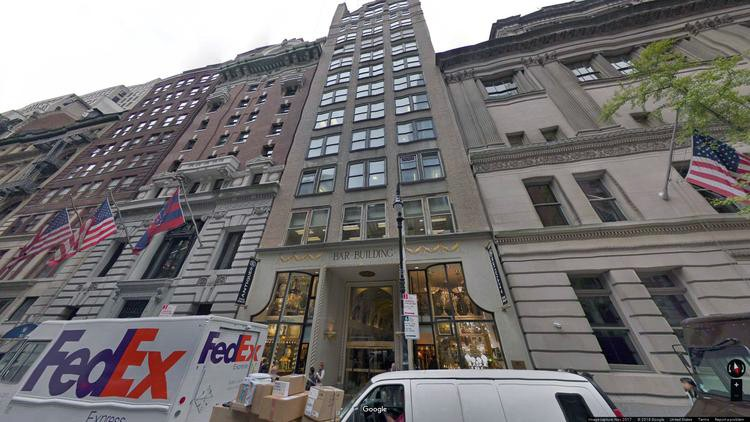 let office 34-36 west 44th street