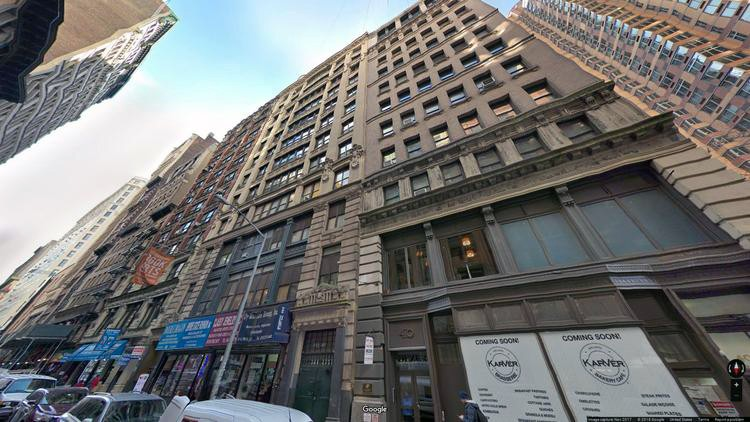rent office 34 west 27th street