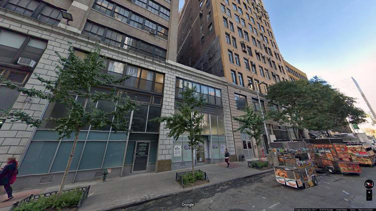 lease office 344 west 38th street