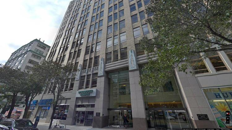 lease office 345 hudson street