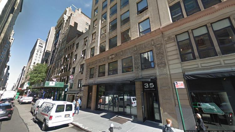 rent office 35 east 21st street
