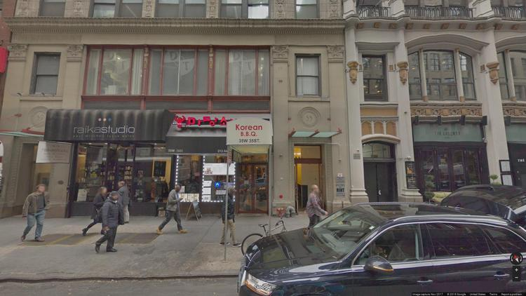 rent office 35 west 35th street