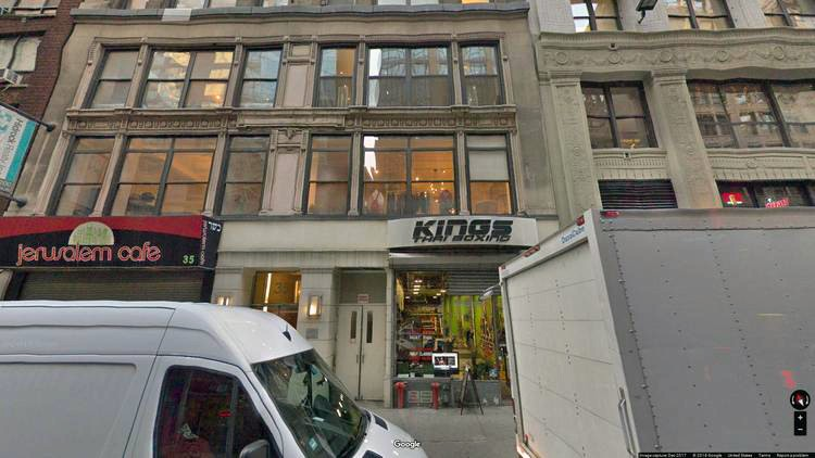 rent office 35 west 36th street