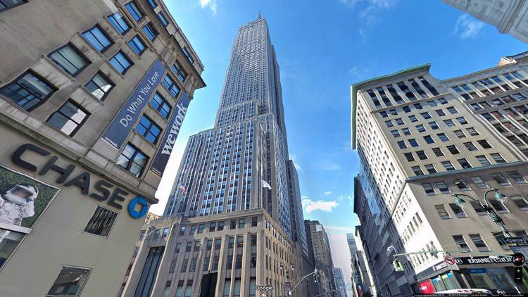 rent office 350 fifth avenue