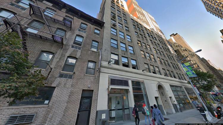 lease office 353 west 39th street