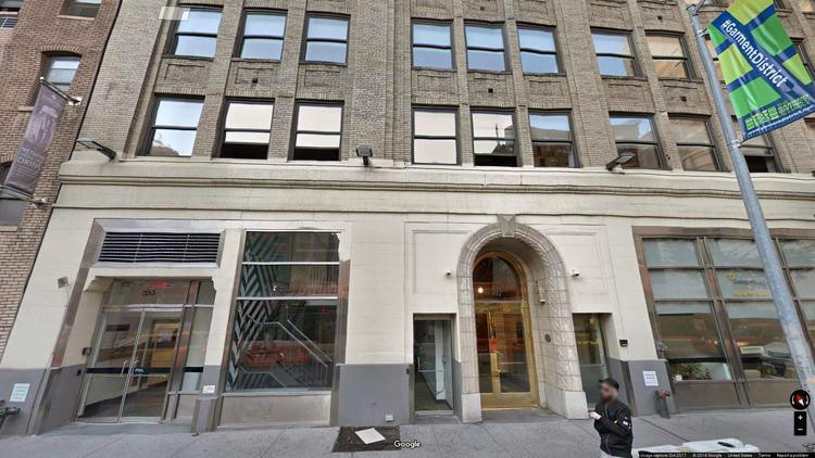 rent office 353 west 39th street