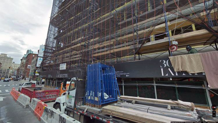 lease office 363 lafayette street