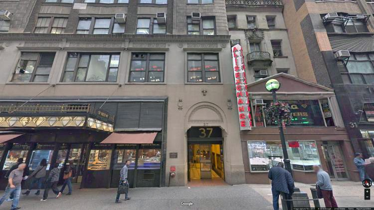 rent office 37 west 47th street